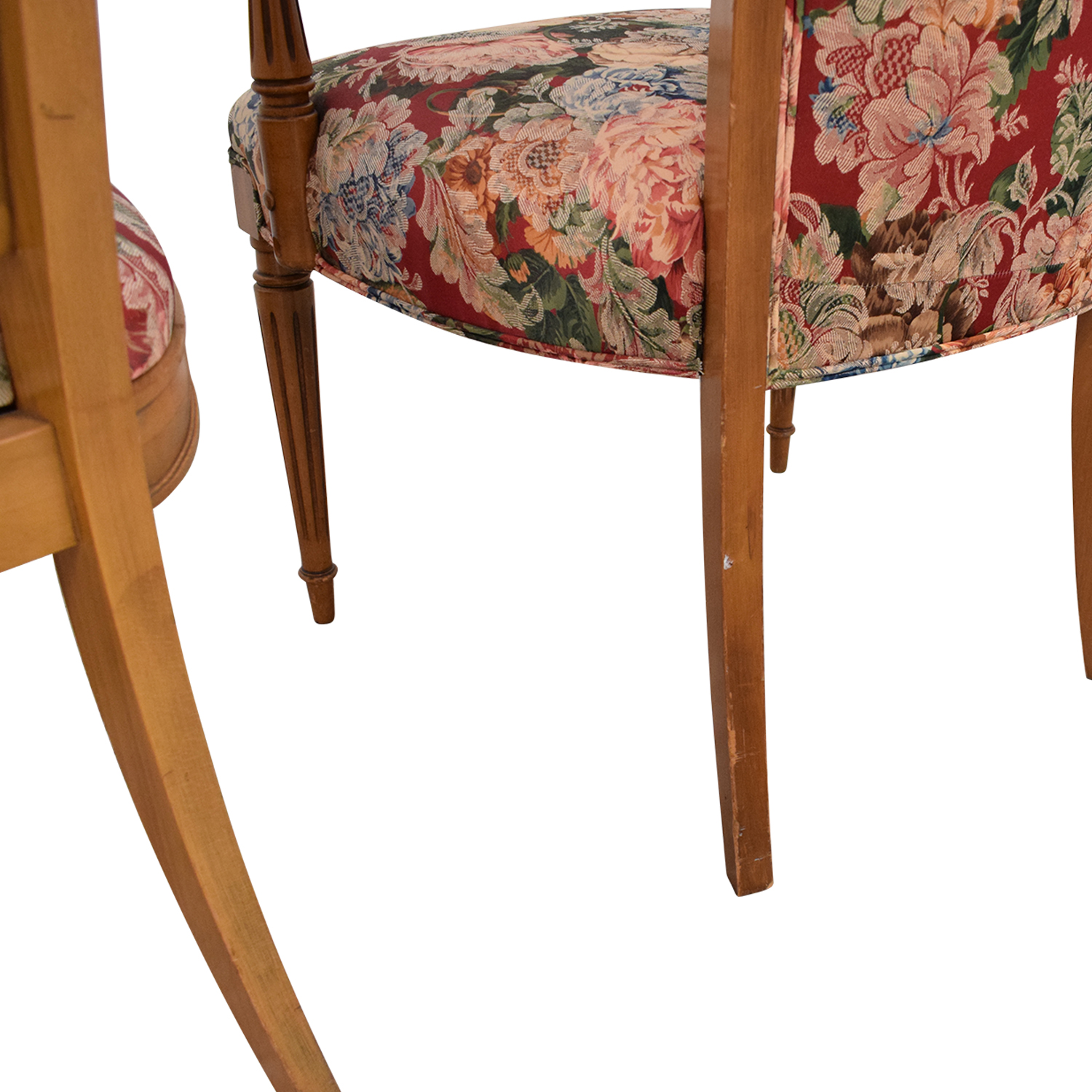 buy Floral Upholstered Arm and Side Dining Chairs  Chairs