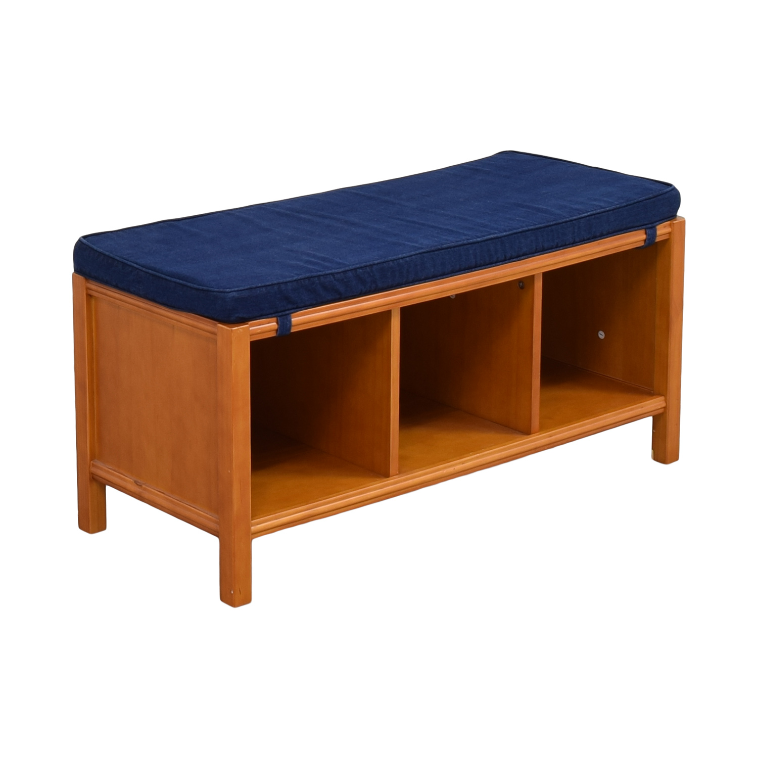 Land of Nod The Land of Nod Three Cube Bench with Cushion dimensions
