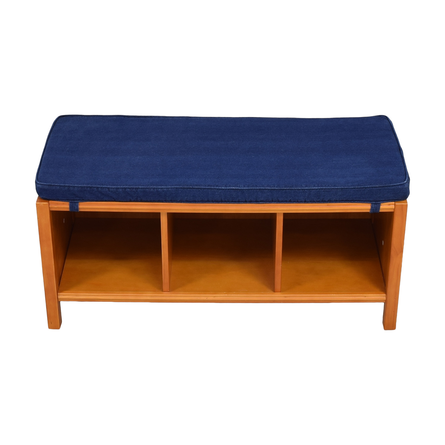 Land of Nod The Land of Nod Three Cube Bench with Cushion for sale