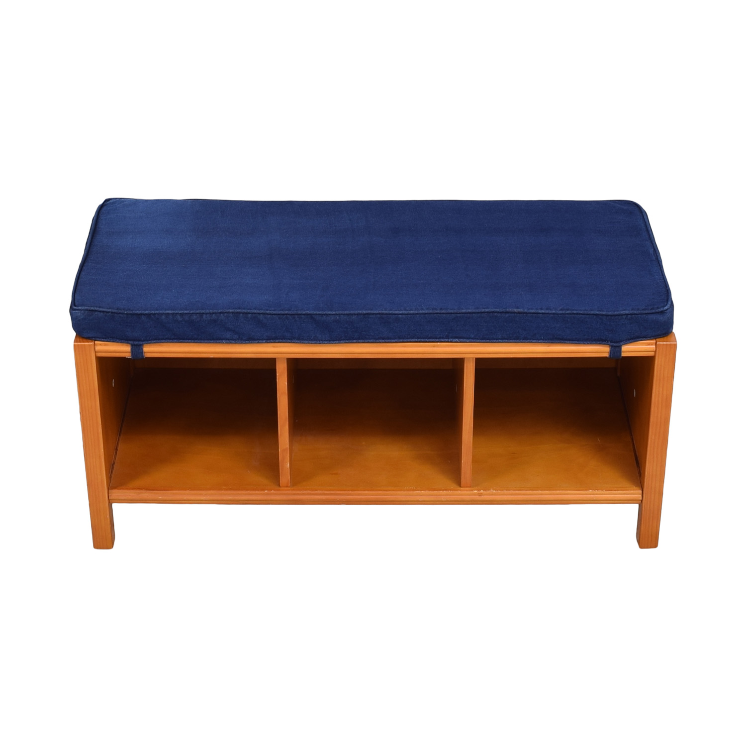 Land of Nod The Land of Nod Three Cube Bench with Cushion pa