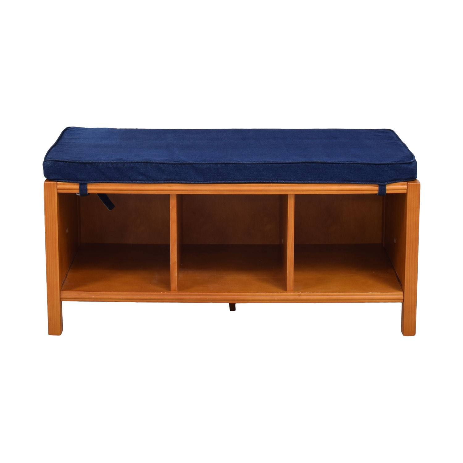 buy The Land of Nod Three Cube Bench with Cushion Land of Nod