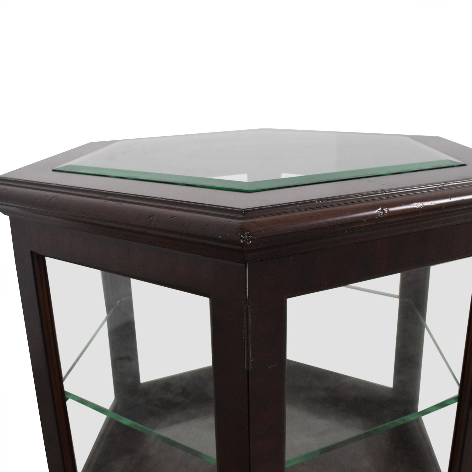 Thomasville Thomasville Hexagon End Table pa