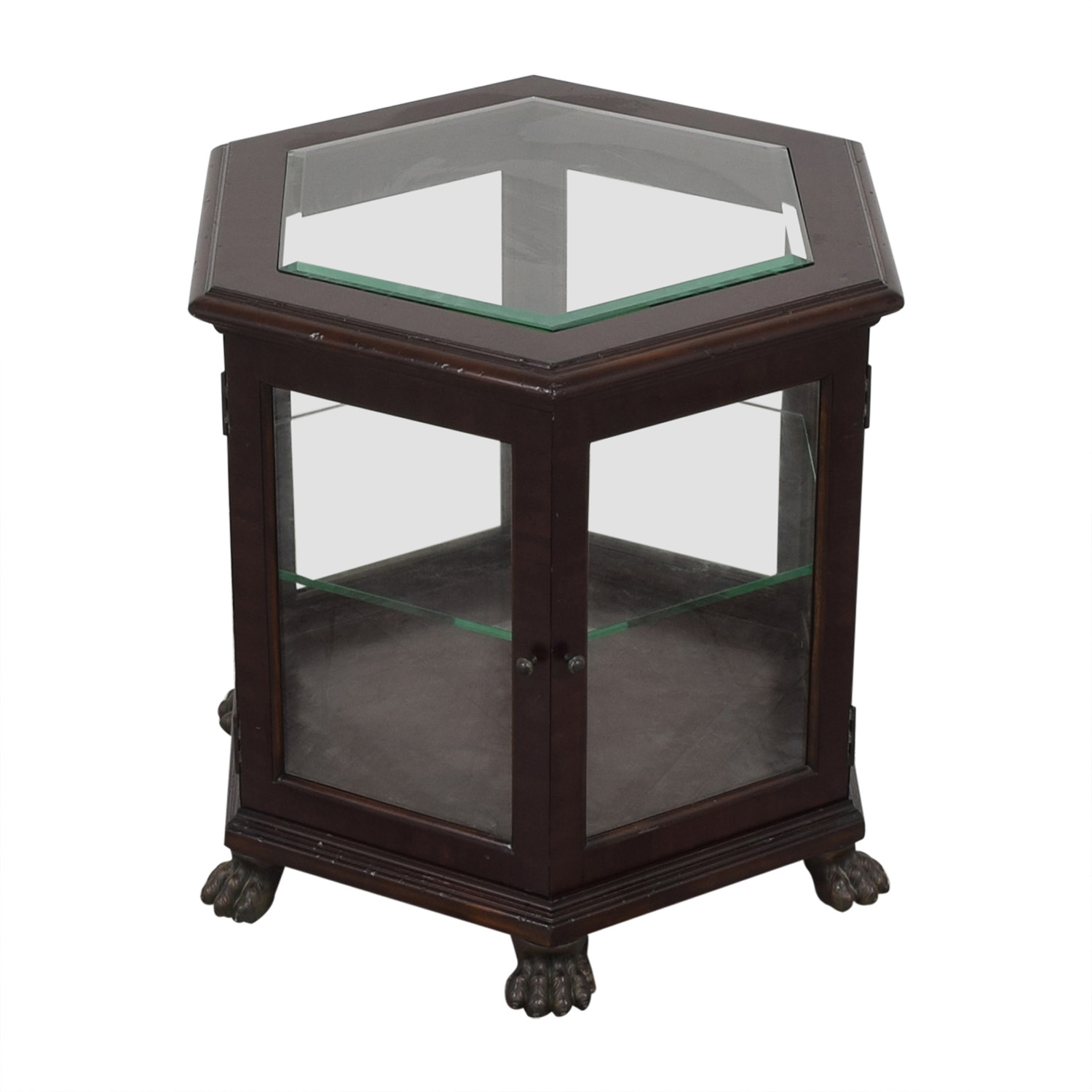 Thomasville Hexagon End Table sale