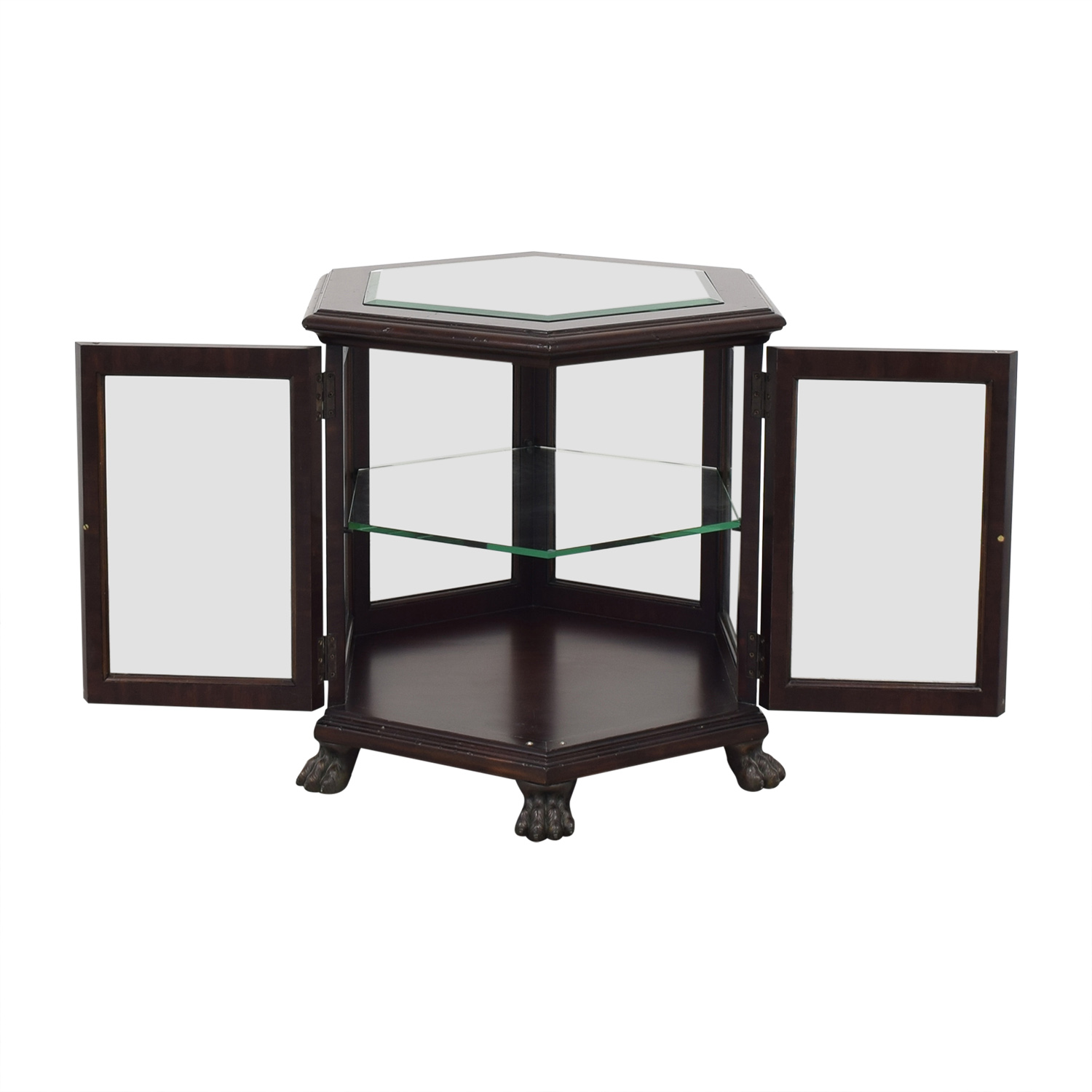 Thomasville Thomasville Hexagon End Table ma