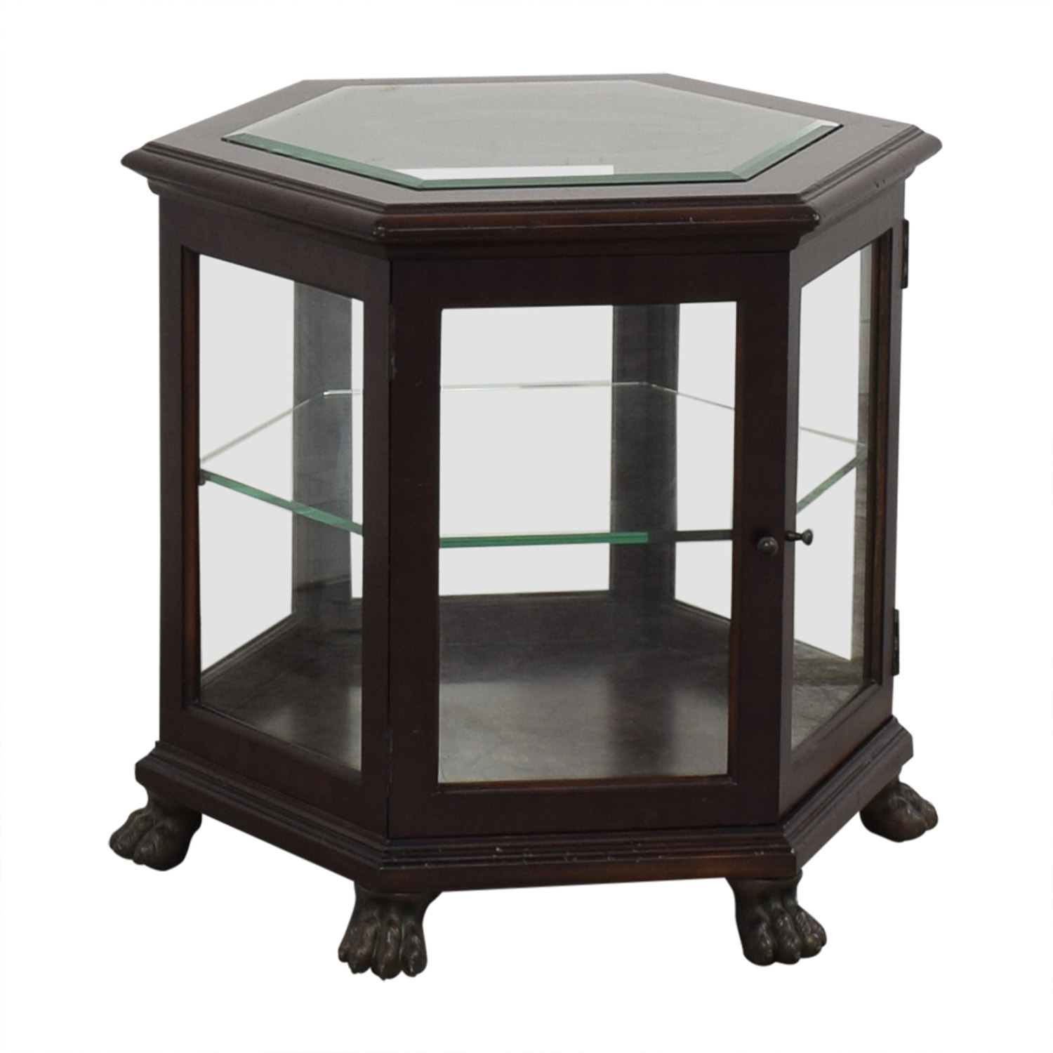 Thomasville Hexagon End Table / End Tables