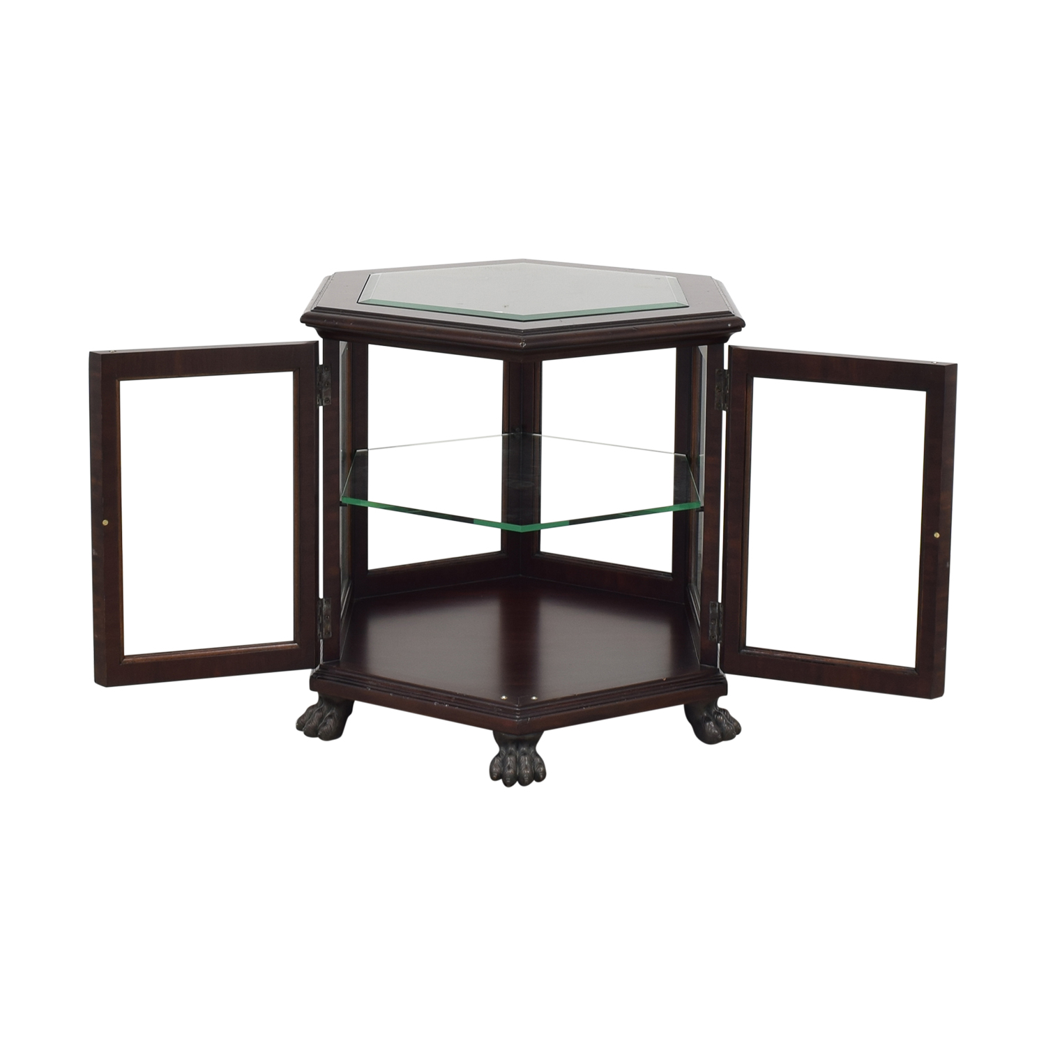 Thomasville End Table with Storage Thomasville