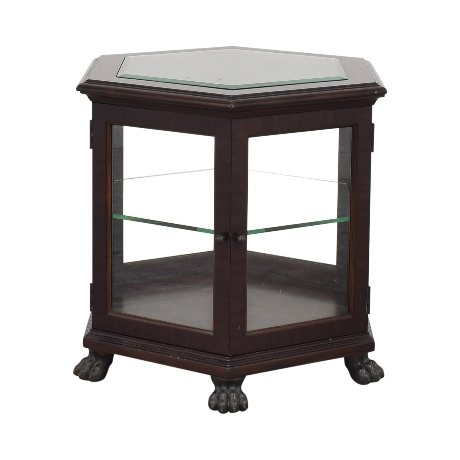 Thomasville Thomasville End Table with Storage dimensions