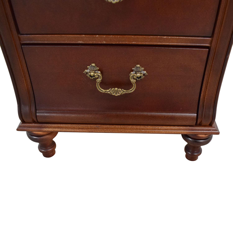 Stanley Furniture Three Drawer Nightstand sale