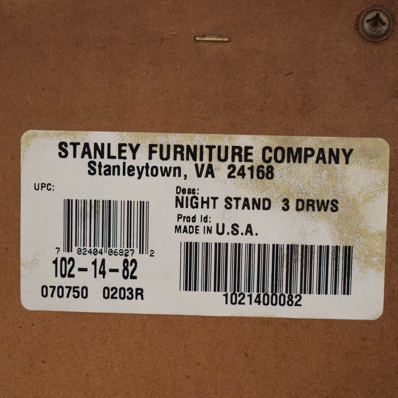 shop Stanley Furniture Stanley Furniture Three Drawer Nightstand online