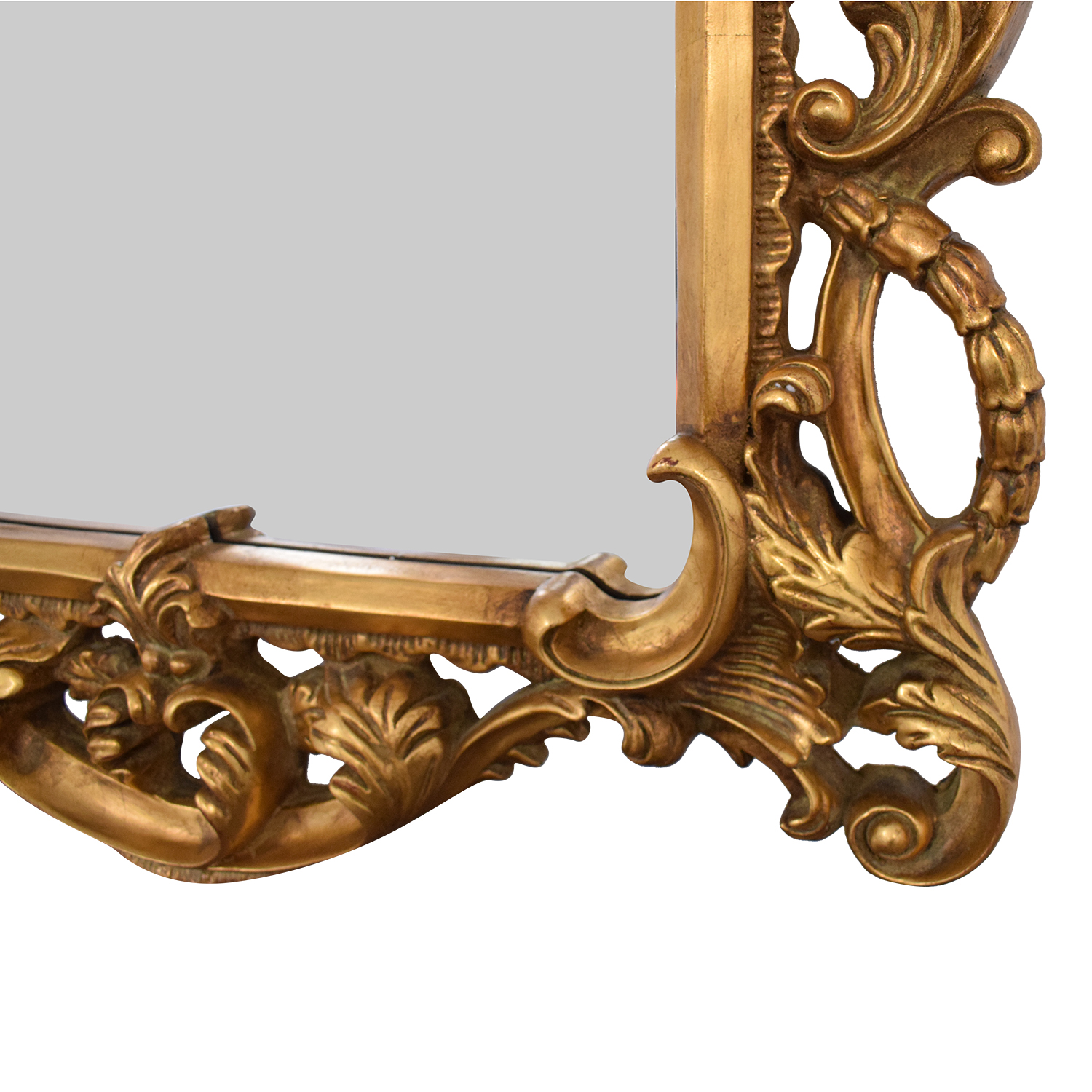 Horchow Horchow Sterling Industries Ornate Wall Mirror gold