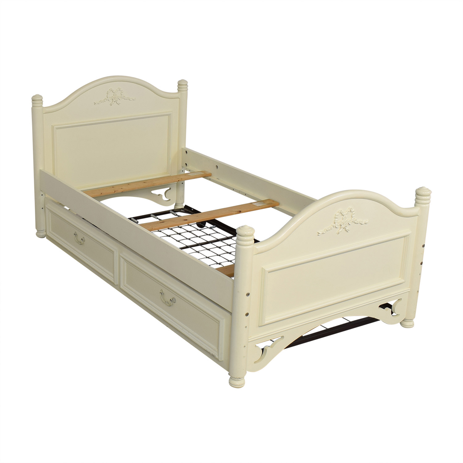 Lexington Furniture Lexington Furniture Twin Bed with Trundle dimensions