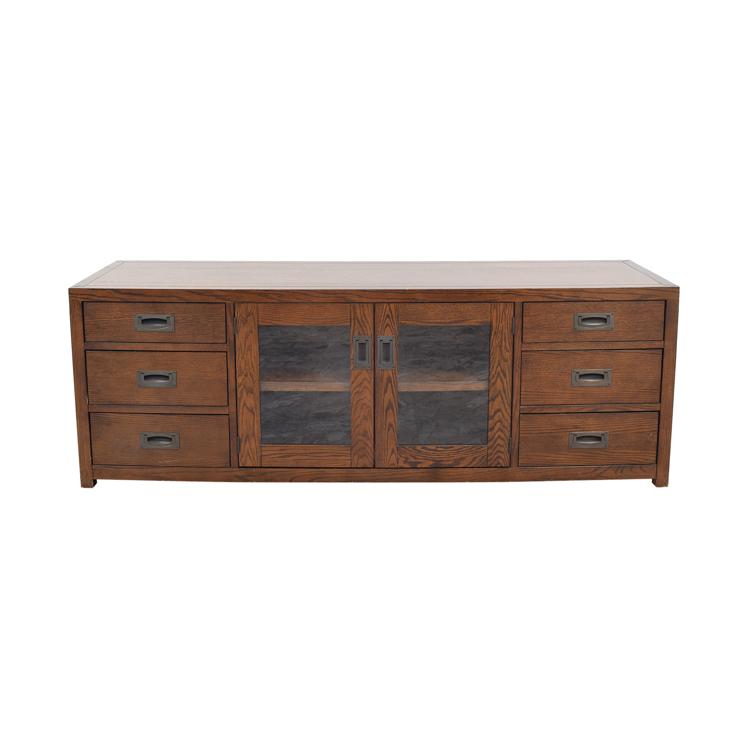 buy Restoration Hardware Larkspur Media Console Restoration Hardware
