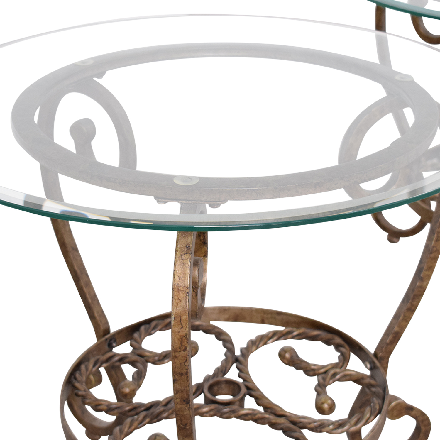 buy Bassett Furniture Glass End Tables Bassett Furniture