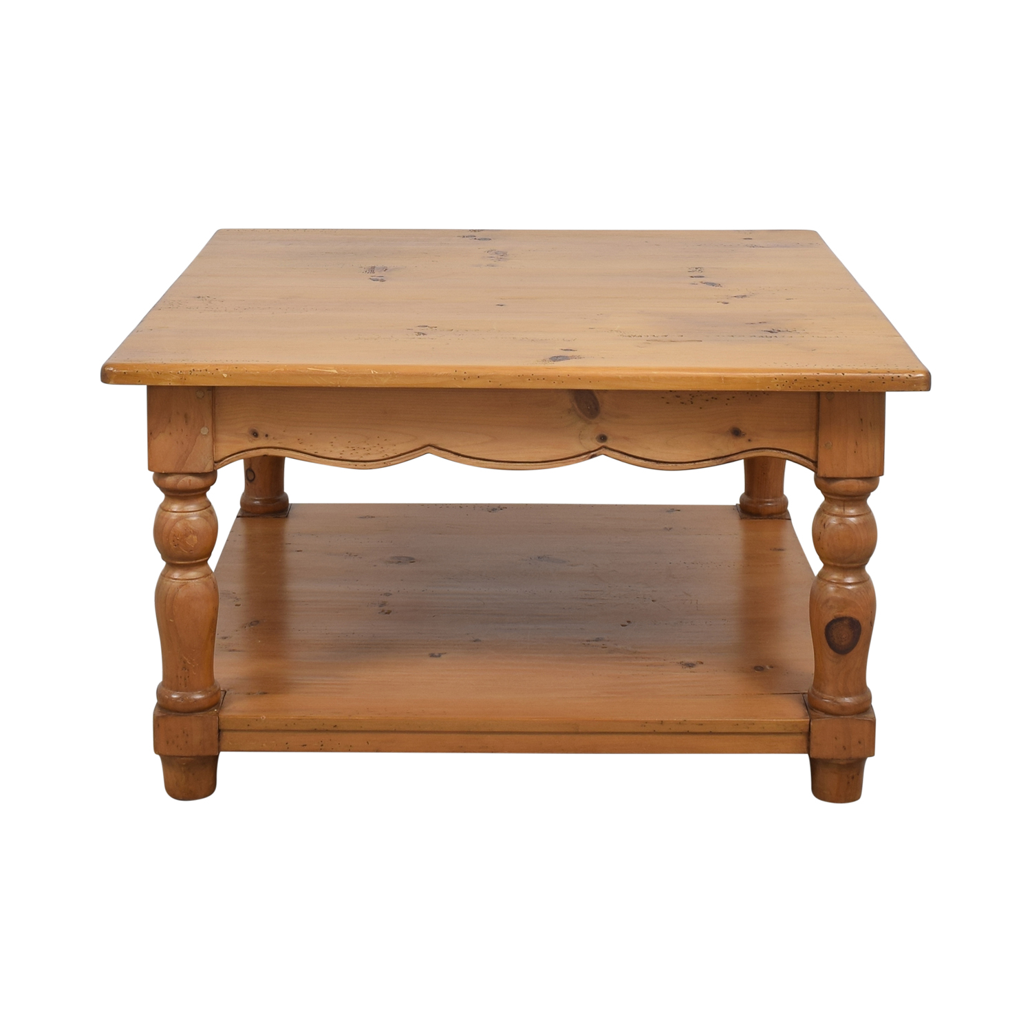 Scalloped Edge Coffee Table price