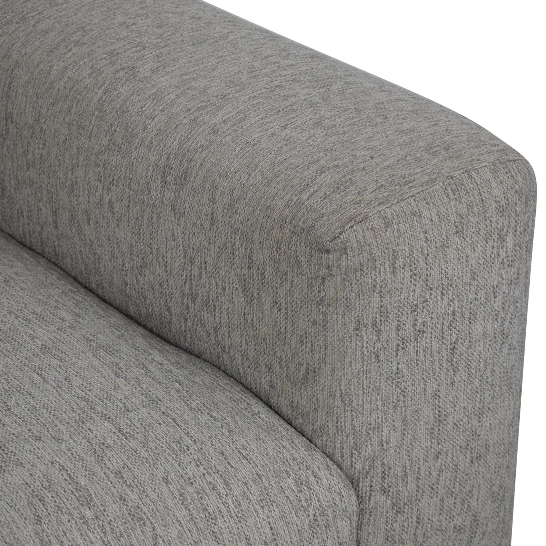 Article Article Volu Mid Century Modern Fabric Sofa