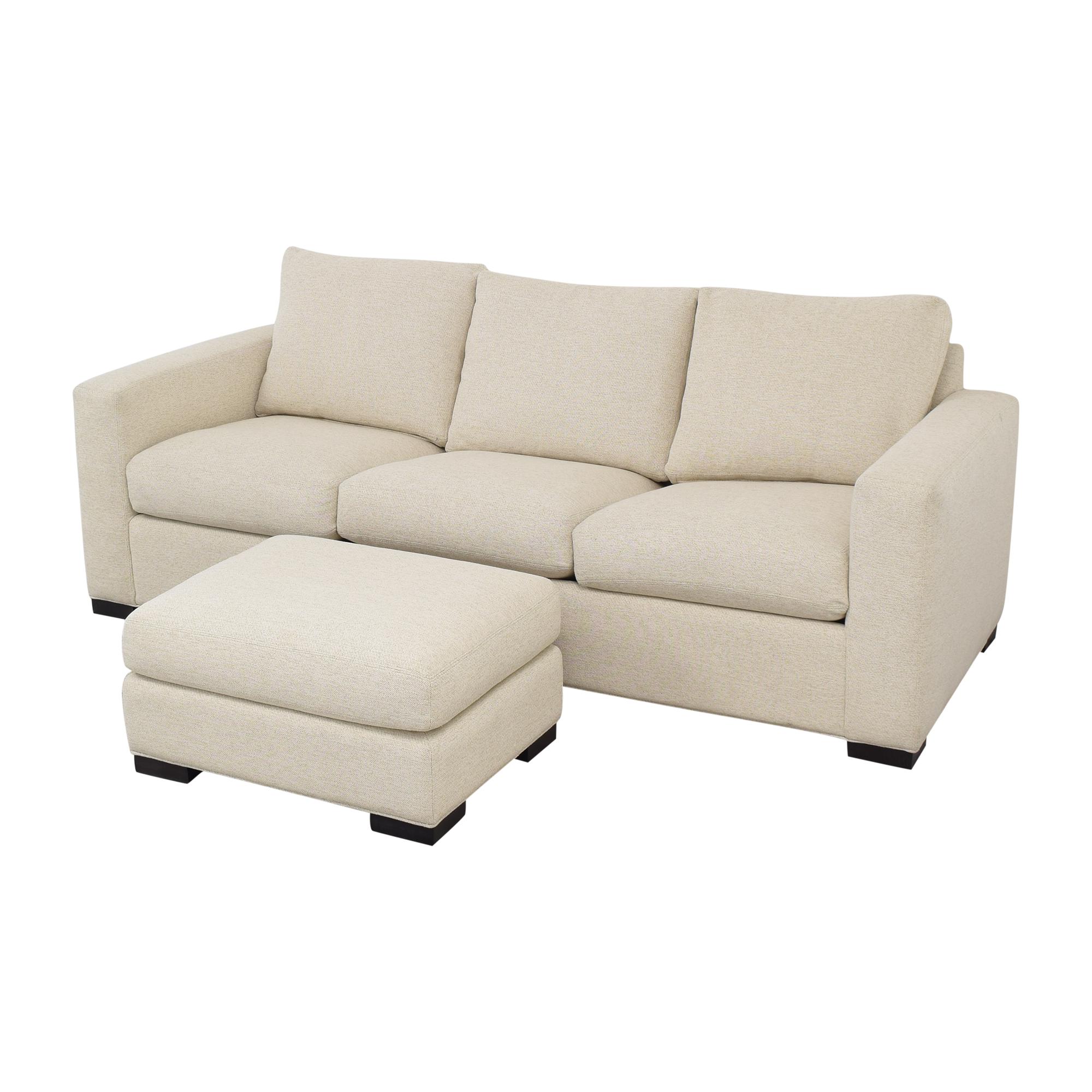 Room & Board Room & Board Queen Sleeper Sofa with Ottoman discount
