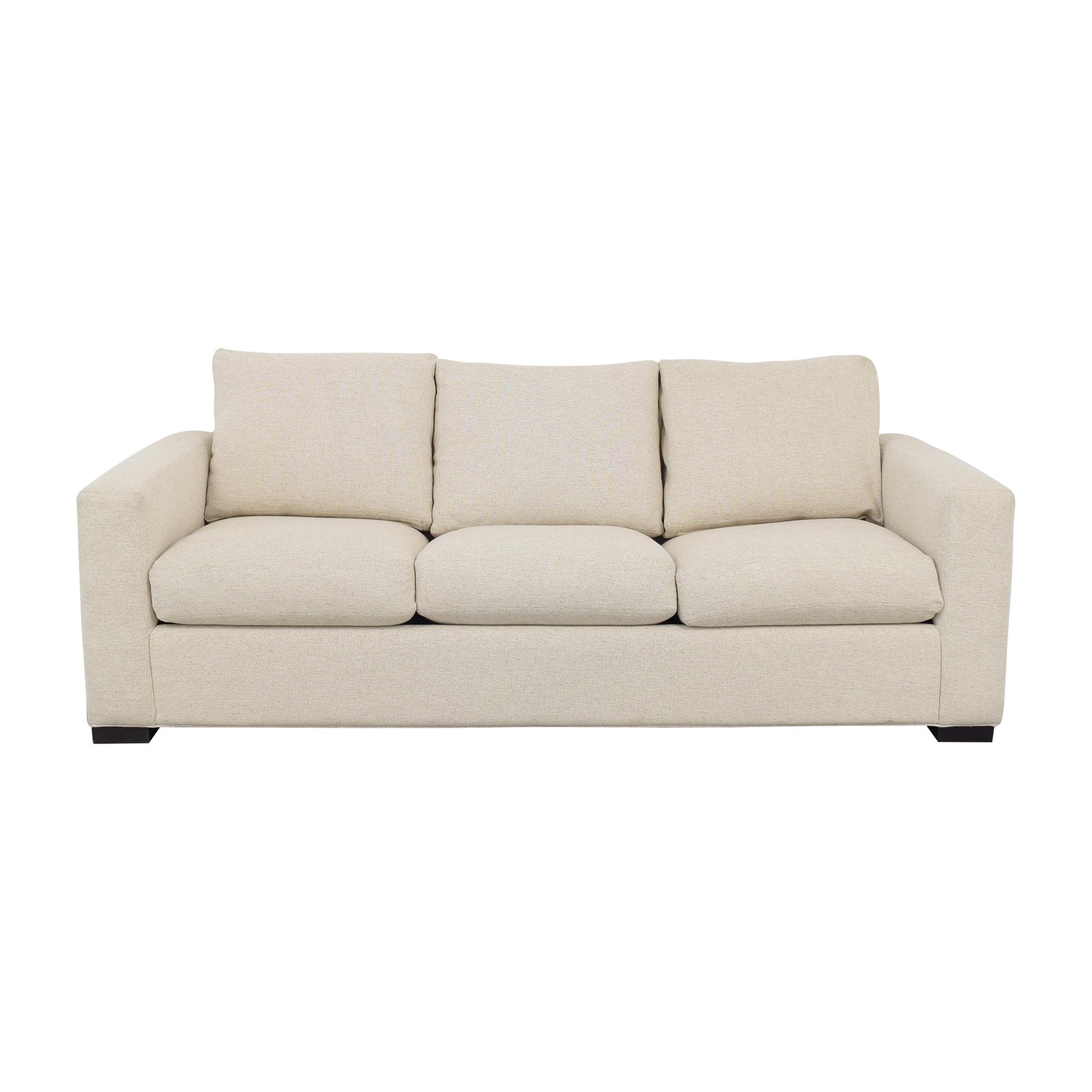 Room & Board Room & Board Queen Sleeper Sofa with Ottoman pa