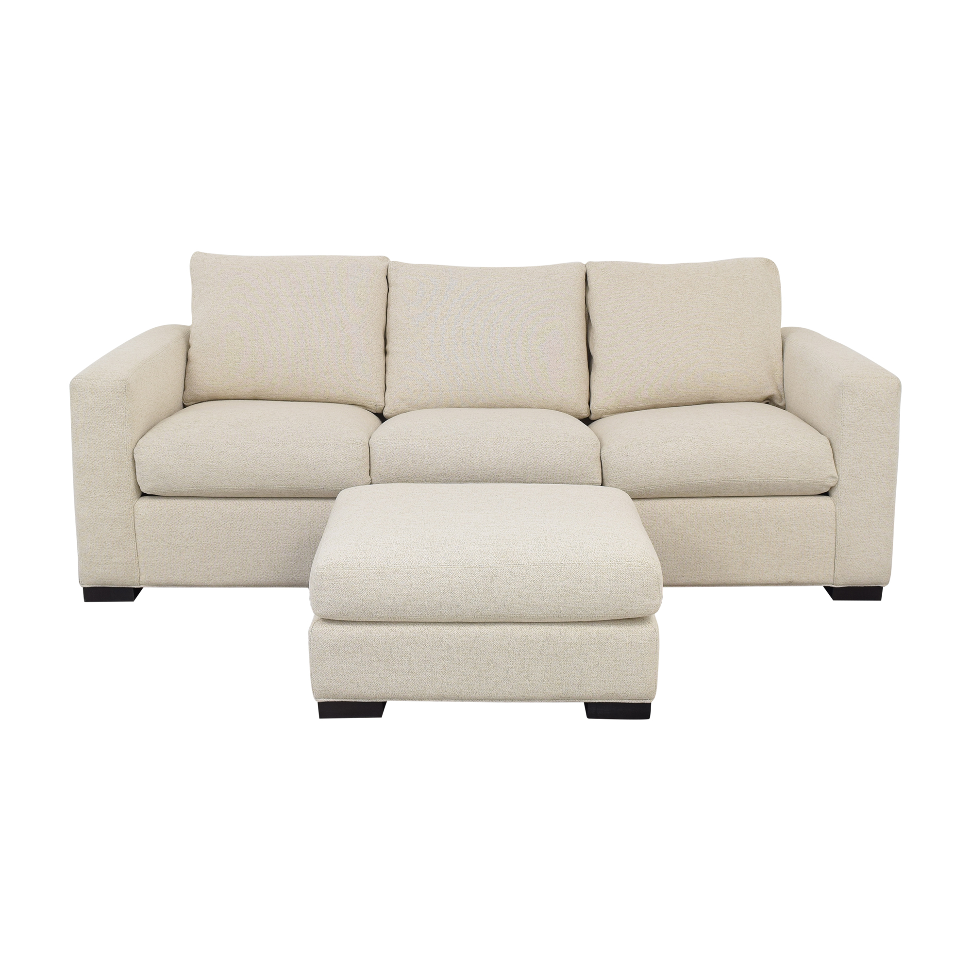 Room & Board Room & Board Queen Sleeper Sofa with Ottoman on sale