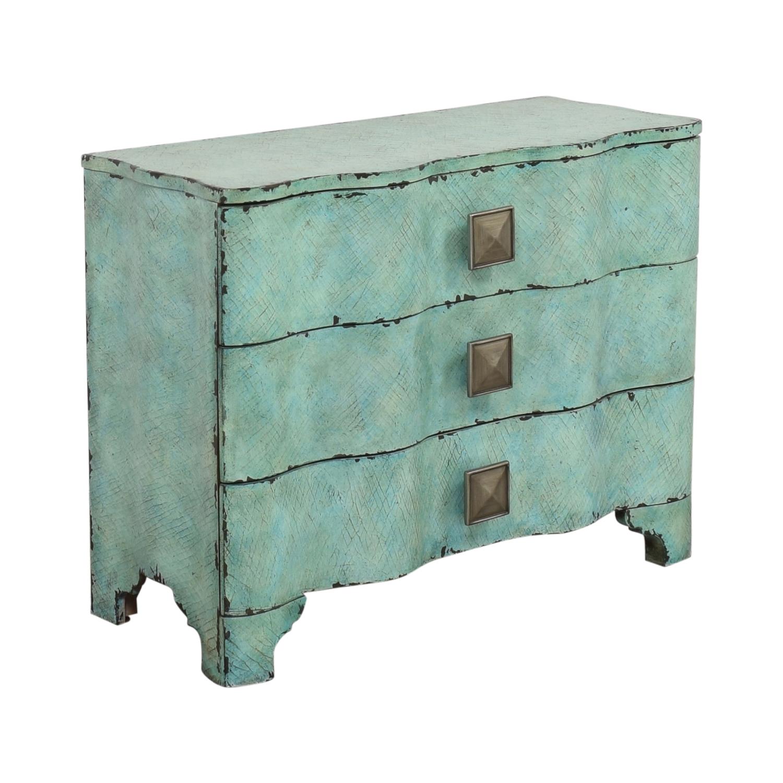 shop Hooker Furniture Three Drawer Crackle Chest Hooker Furniture Storage