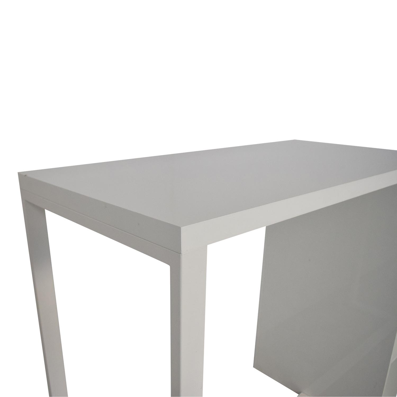 CB2 CB2 Sidecar High Dining Table dimensions