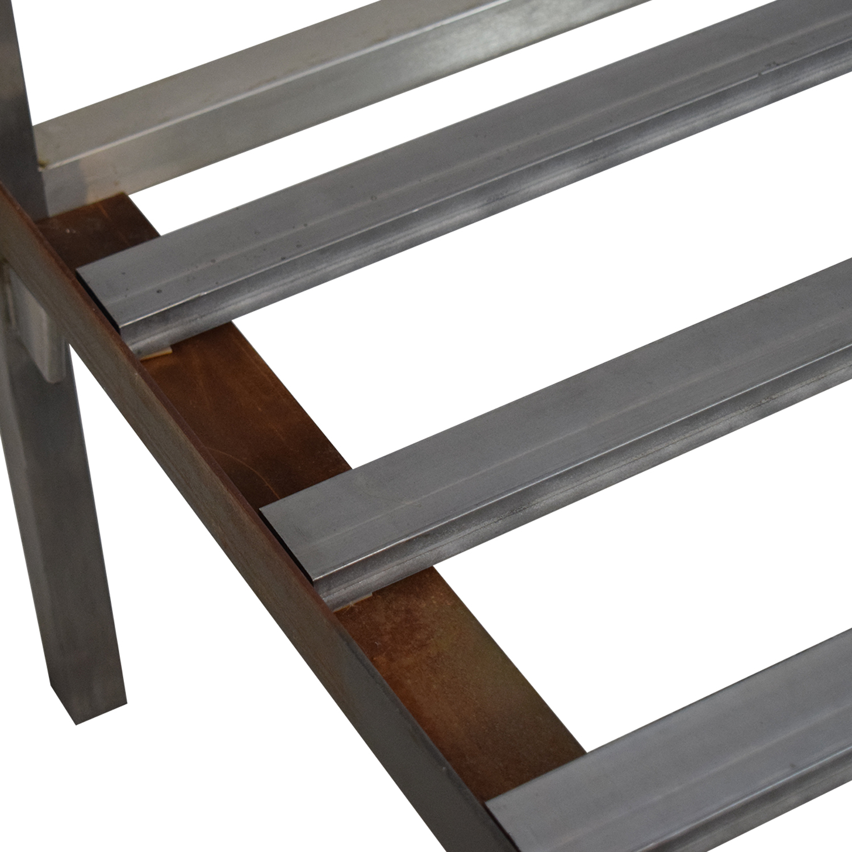 buy Room & Board Portica Full Bed Stainless Steel Room & Board