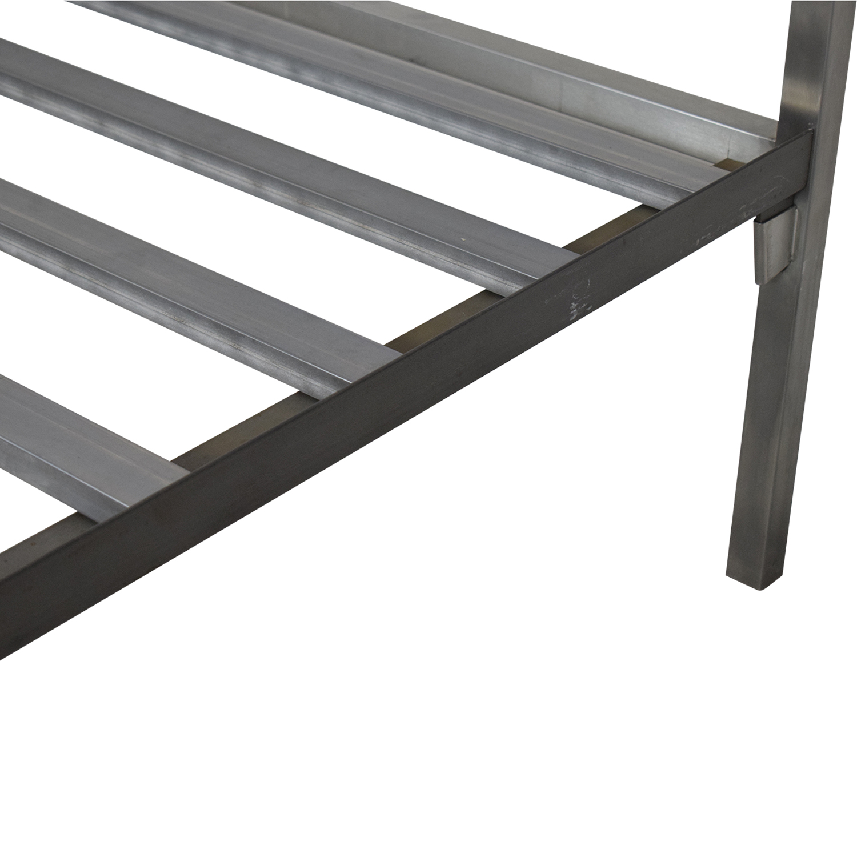 Room & Board Room & Board Portica Full Bed Stainless Steel