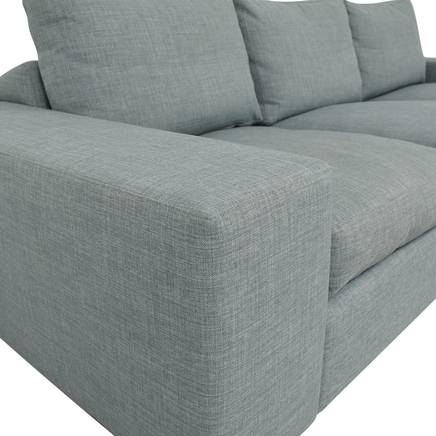 Three Cushion Modern Sofa nyc