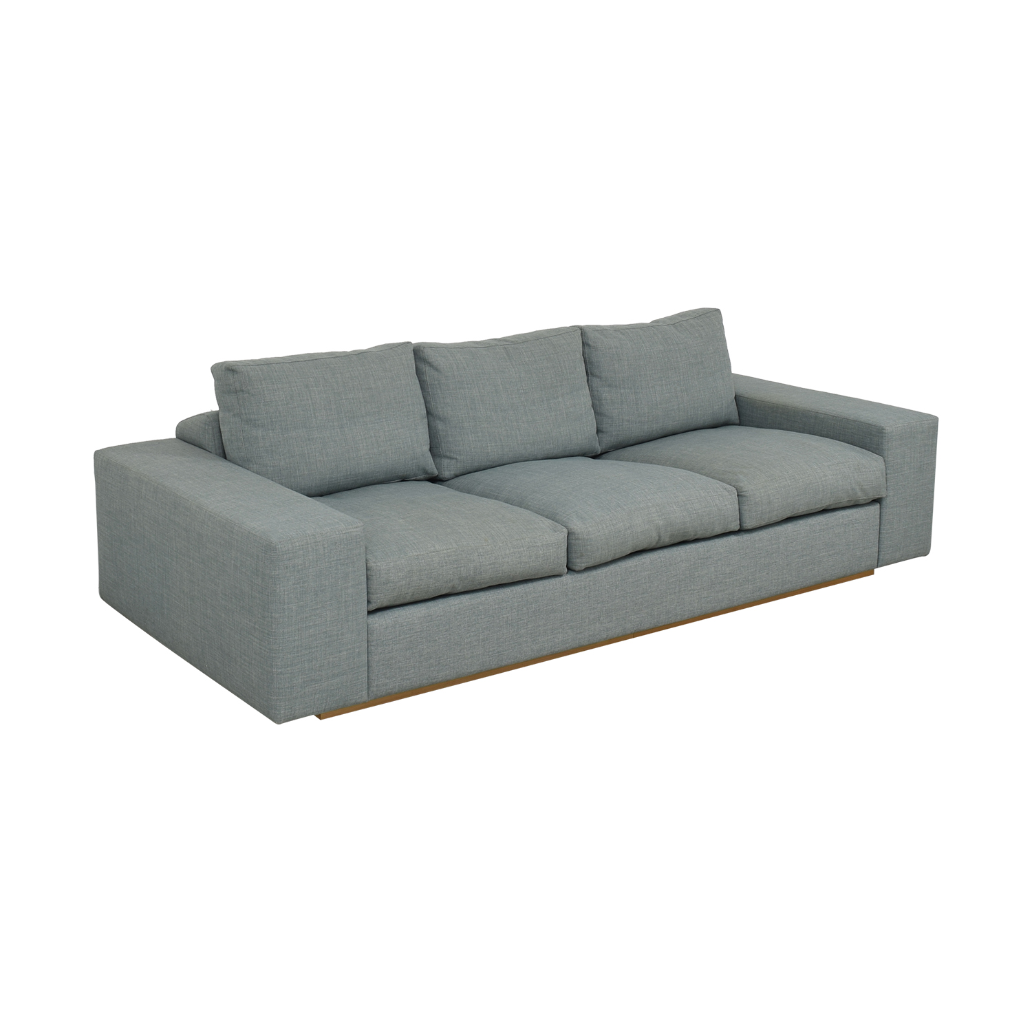 Three Cushion Modern Sofa Sofas