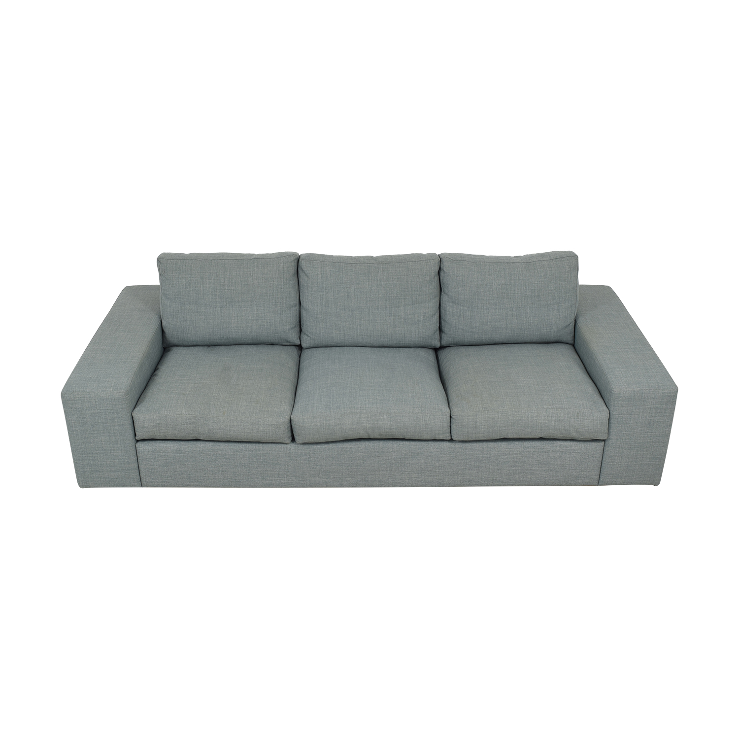 Three Cushion Modern Sofa nj