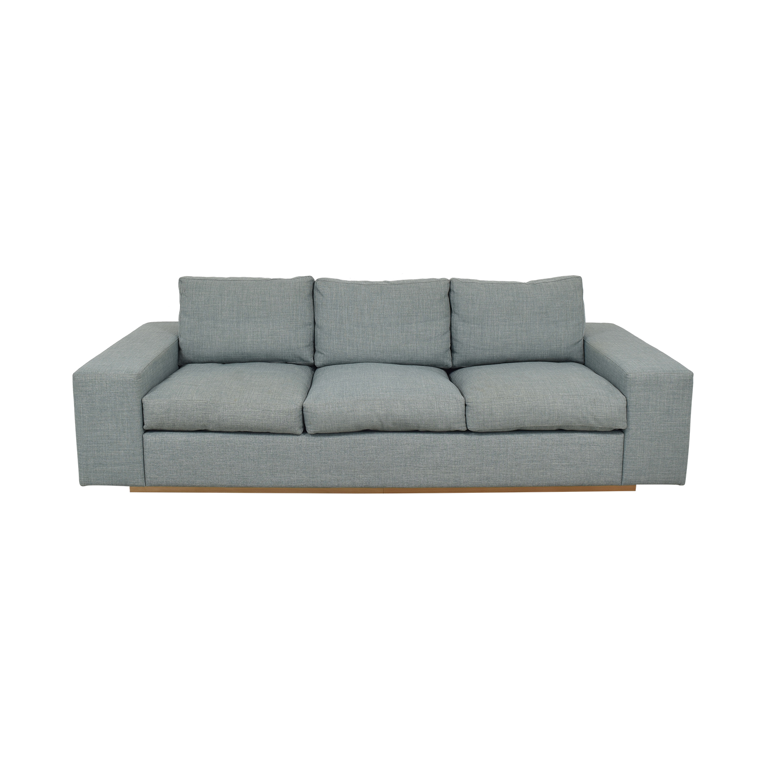 Three Cushion Modern Sofa for sale