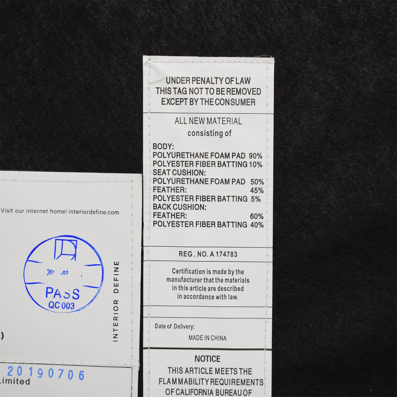 Interior Define Interior Define Sloane U-Sectional Sofa nj