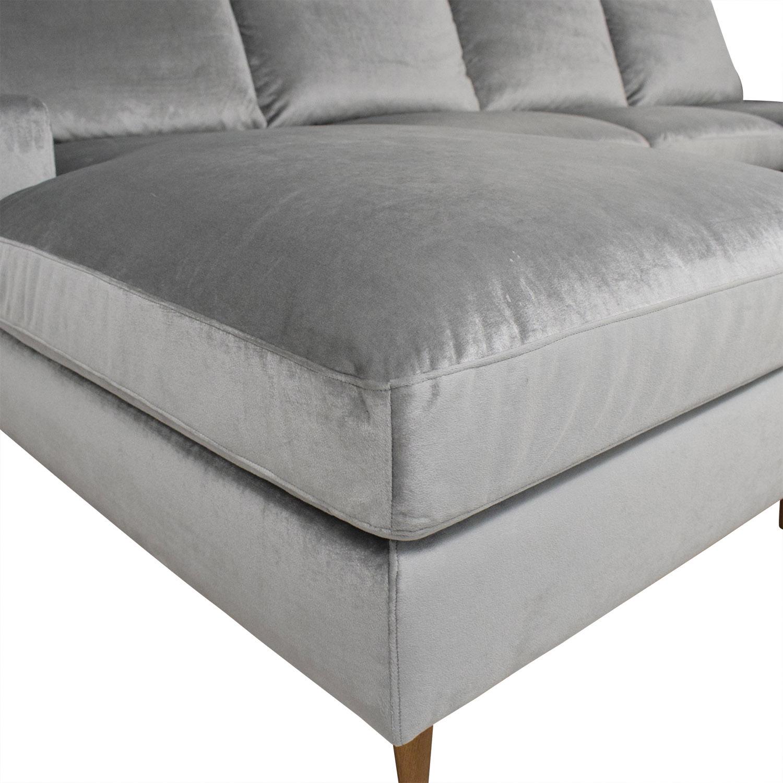Interior Define Sloane U-Sectional Sofa / Sectionals