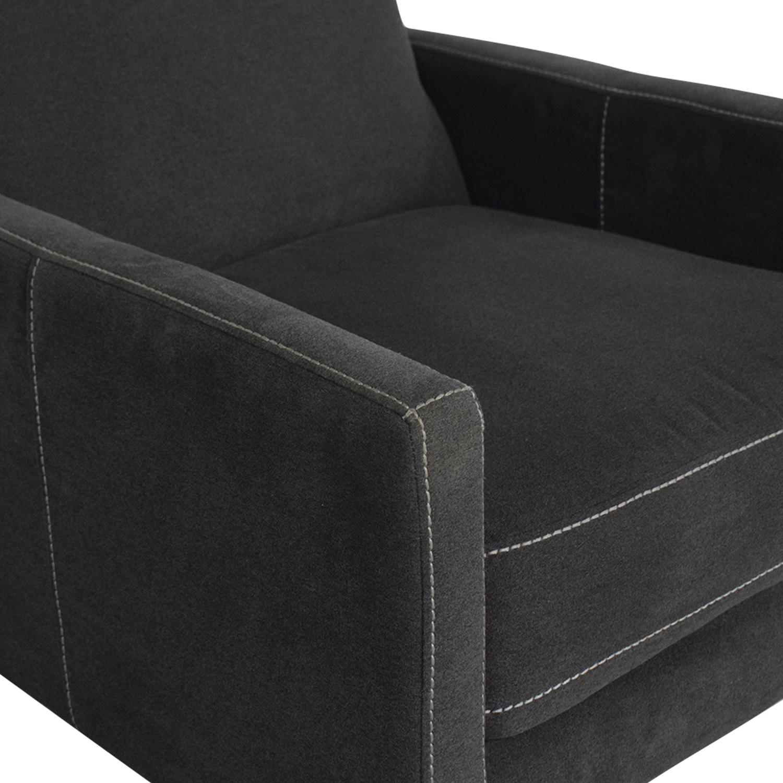 shop West Elm Sedgwick Recliner West Elm Chairs