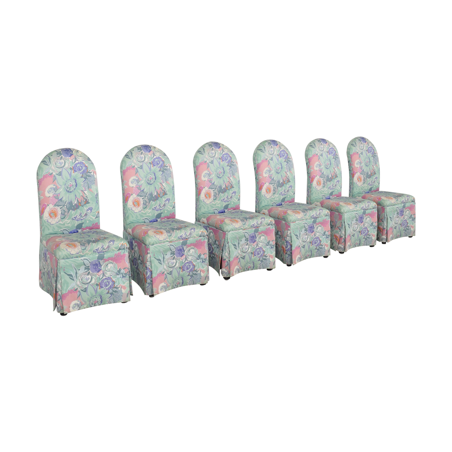 Preview Furniture David L. James Armless Dining Chairs sale