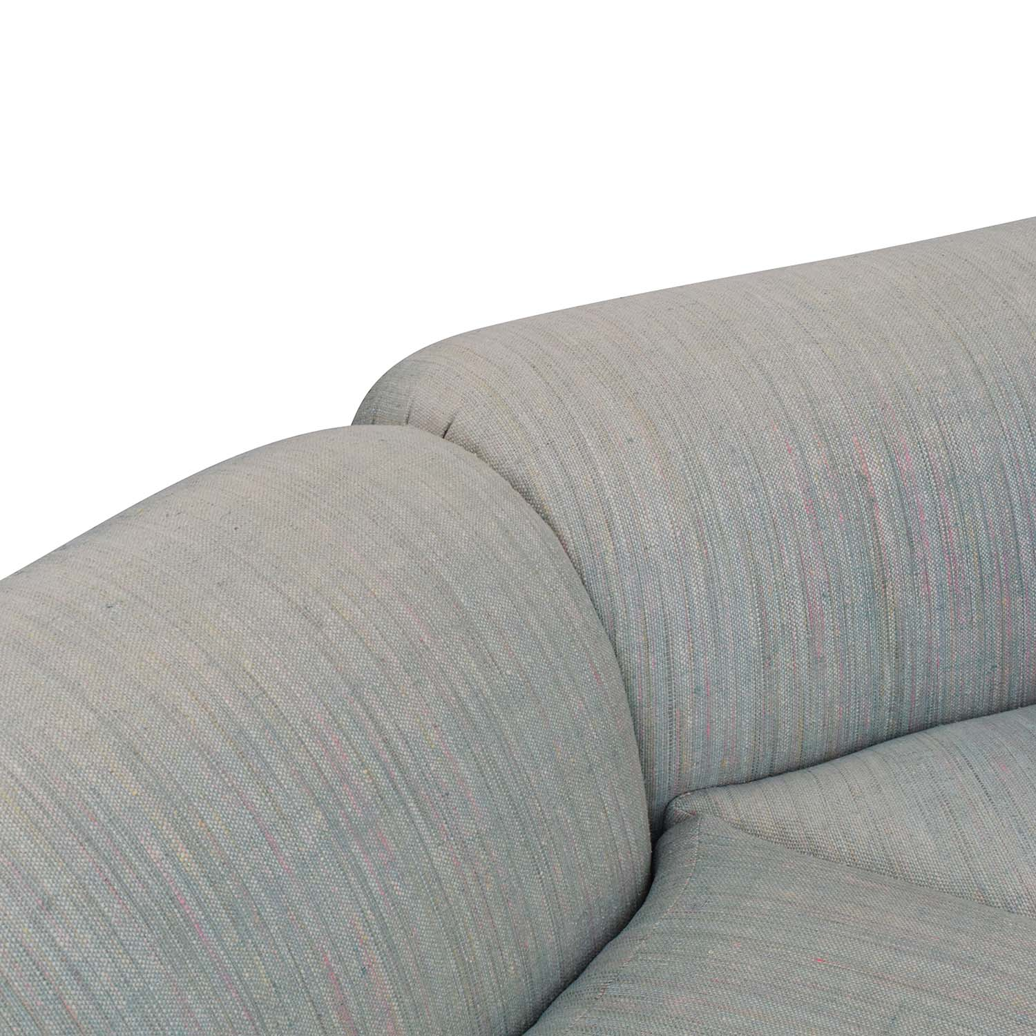 Preview Furniture Preview Furniture David L. James Curved Corner Sectional Sofa second hand