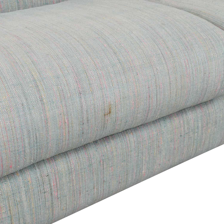 buy Preview Furniture David L. James Curved Corner Sectional Sofa Preview Furniture Sectionals