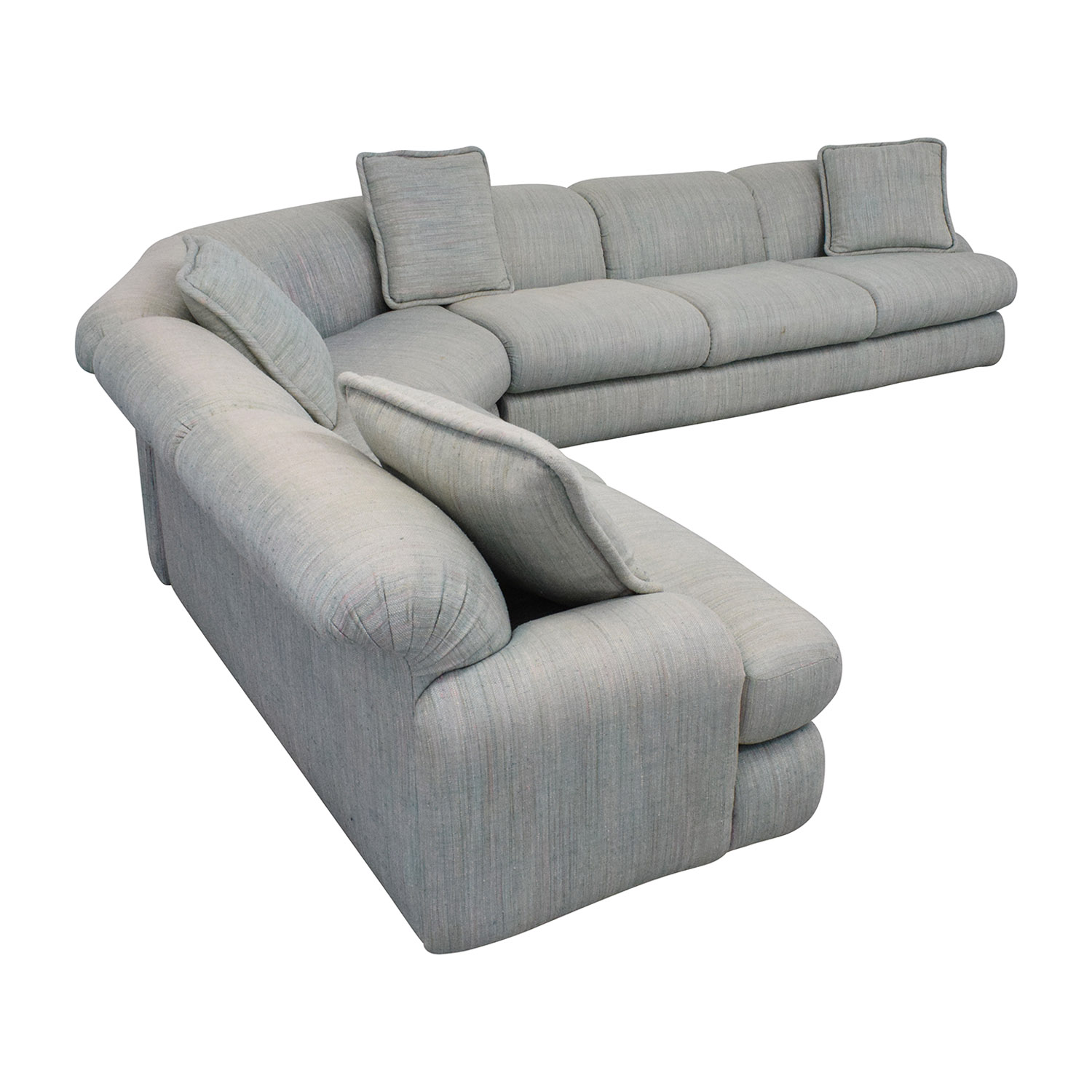 Preview Furniture David L. James Curved Corner Sectional Sofa / Sectionals