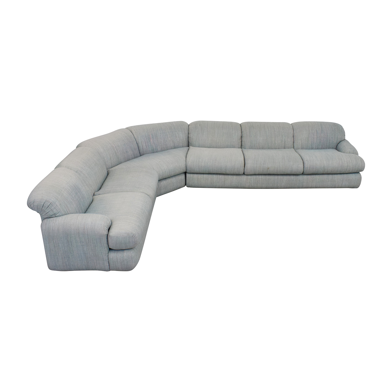 buy Preview Furniture David L. James Curved Corner Sectional Sofa Preview Furniture Sofas