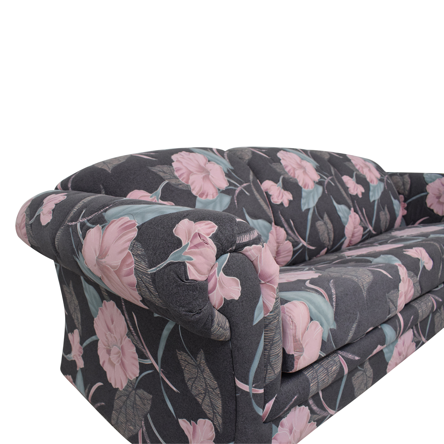 Floral Upholstered Queen Sleeper Sofa sale