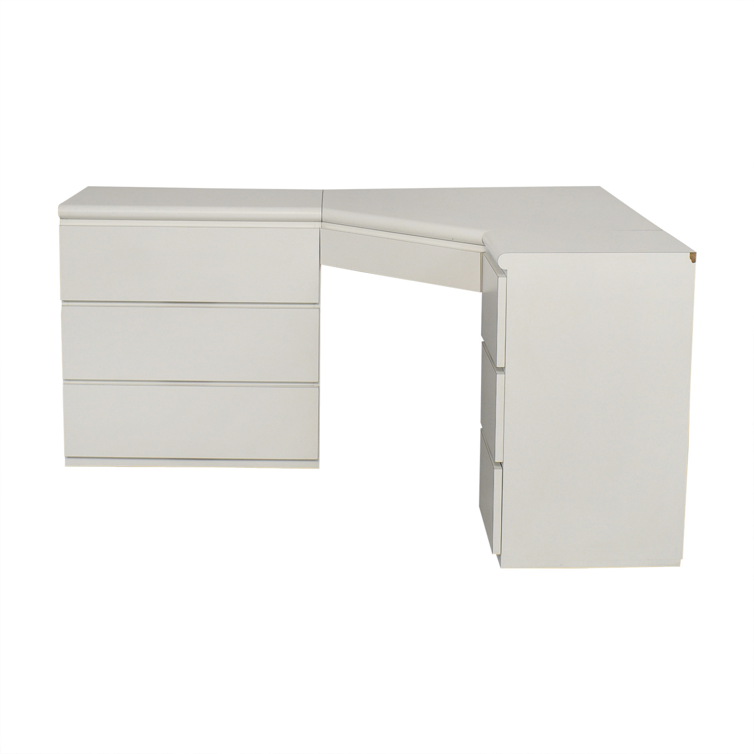 shop Seven Drawer Corner Desk