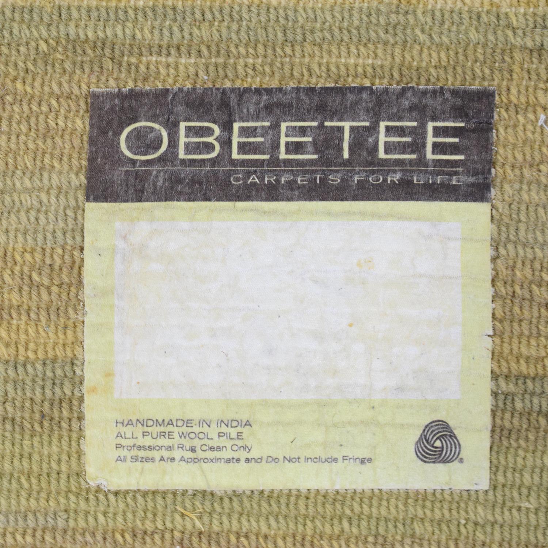 Obeetee Obeetee Custom Area Rug dimensions