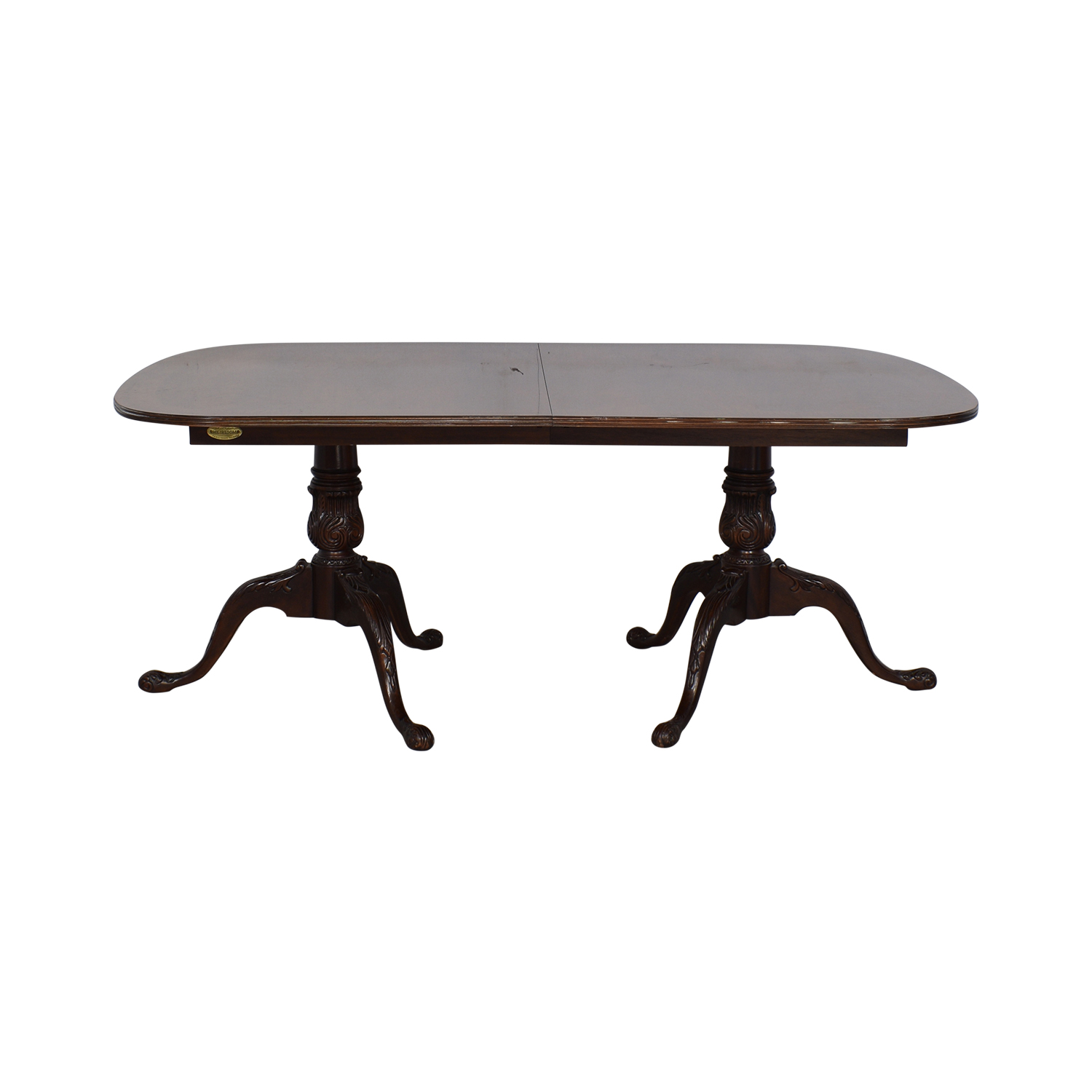 83% OFF - Drexel Heritage Drexel Heritage Double Pedestal Dining Table /  Tables