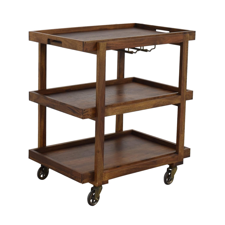 Crate & Barrel Crate & Barrel Collins Bar Cart coupon