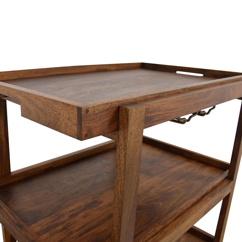 Crate & Barrel Crate & Barrel Collins Bar Cart on sale