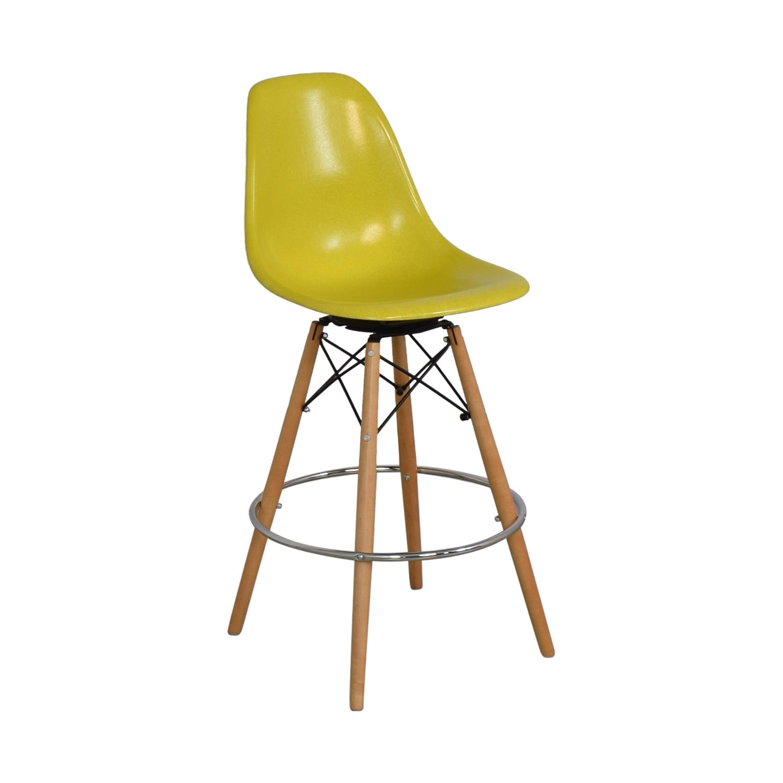 buy Modernica Case Study Side Shell Dowel Bar Stool Modernica Chairs