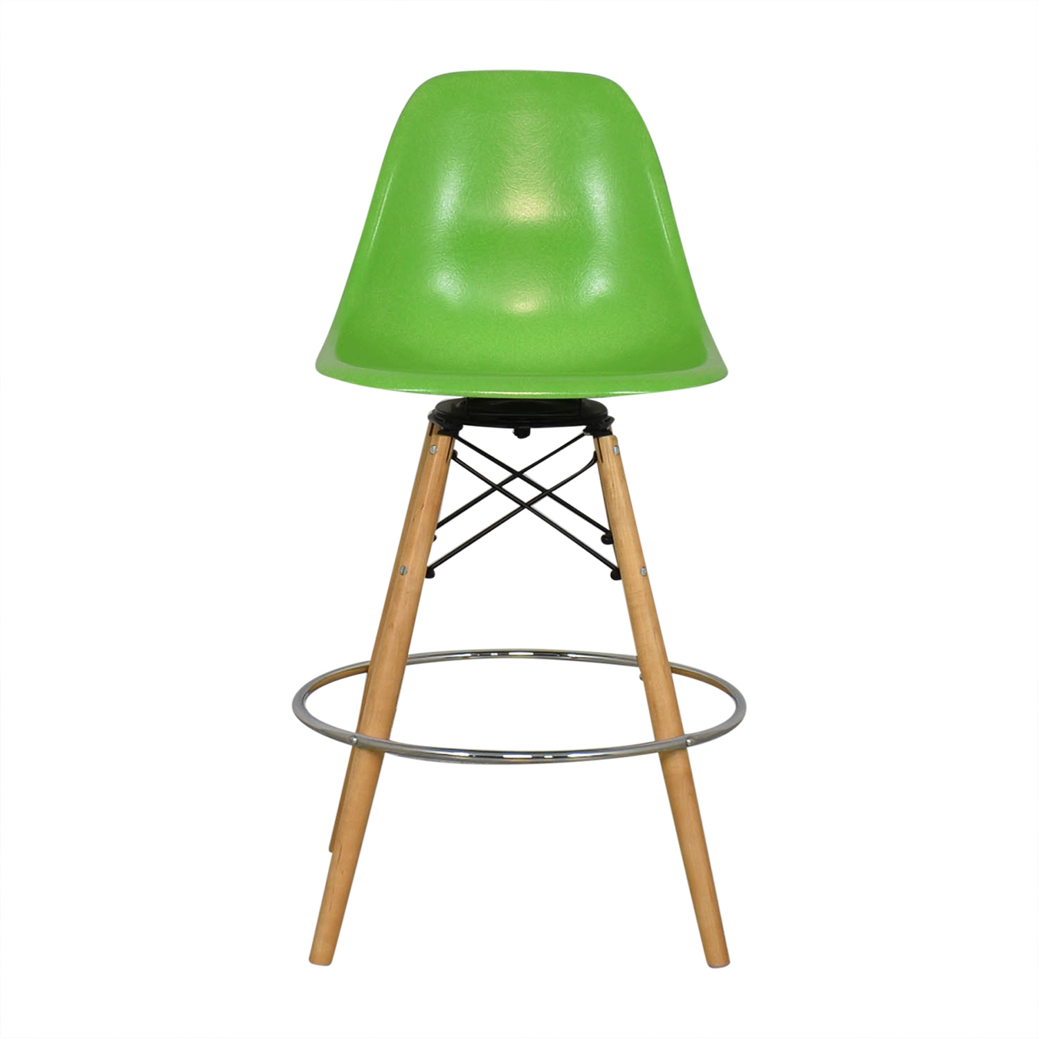 buy Modernica Case Study Side Shell Dowel Bar Stool Modernica Chairs