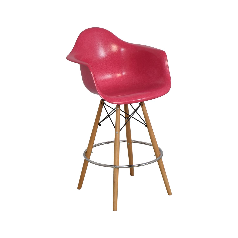 Modernica Modernica Case Study Furniture Arm Shell Dowel Bar Stool nyc