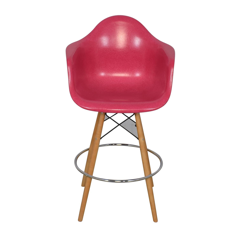 Modernica Modernica Case Study Furniture Arm Shell Dowel Bar Stool for sale