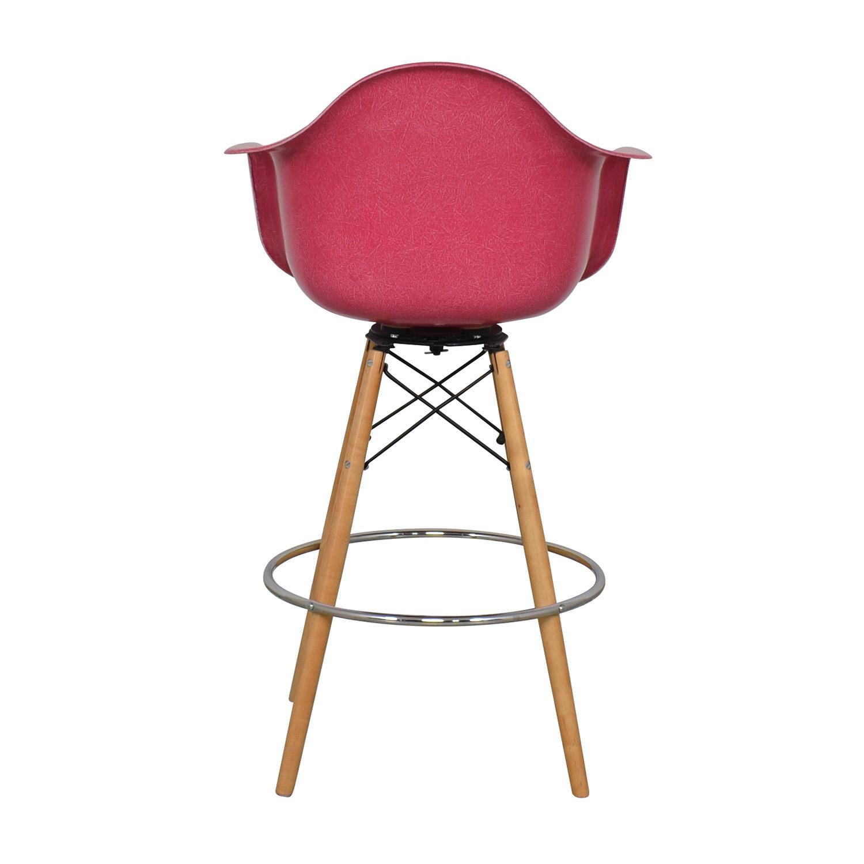 shop Modernica Case Study Furniture Arm Shell Dowel Bar Stool Modernica Stools