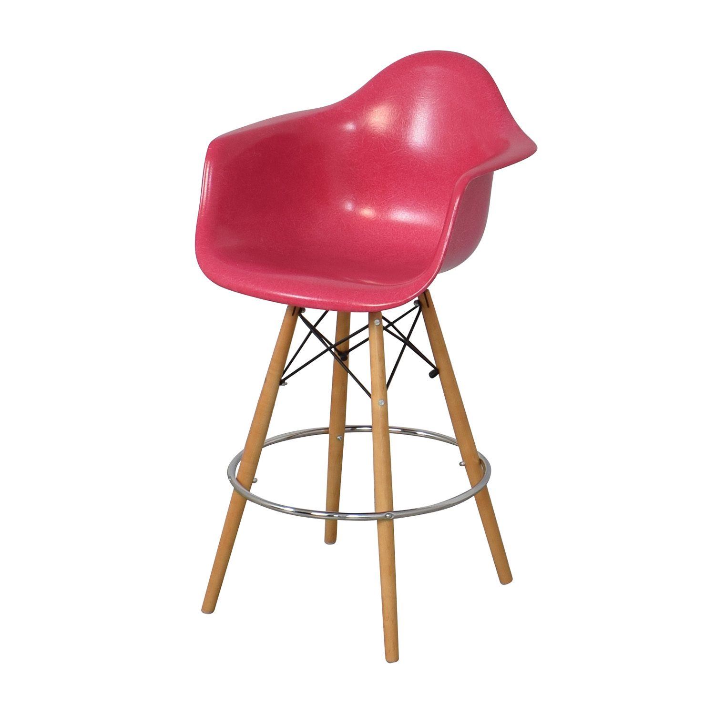 Modernica Case Study Furniture Arm Shell Dowel Bar Stool / Stools